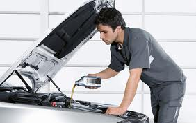 Order Replacing the engine oil
