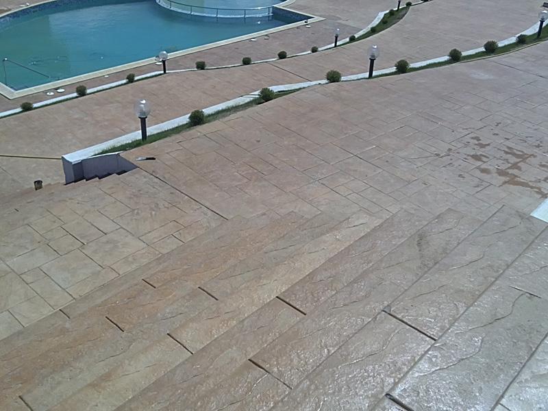 Поръчка Щампован бетон, висококачествени декоративни настилки и облицовки от бетон