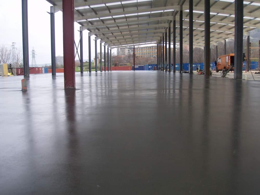Поръчка Направа на шлайфан бетон