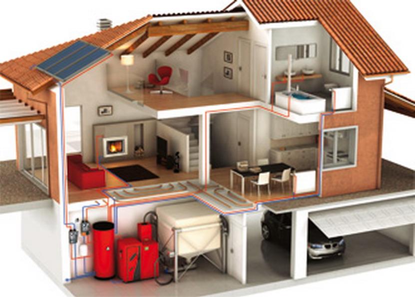 Поръчка Изграждане на отоплителни инсталации с топлоизточник на твърдо гориво, газ, ток и нафта