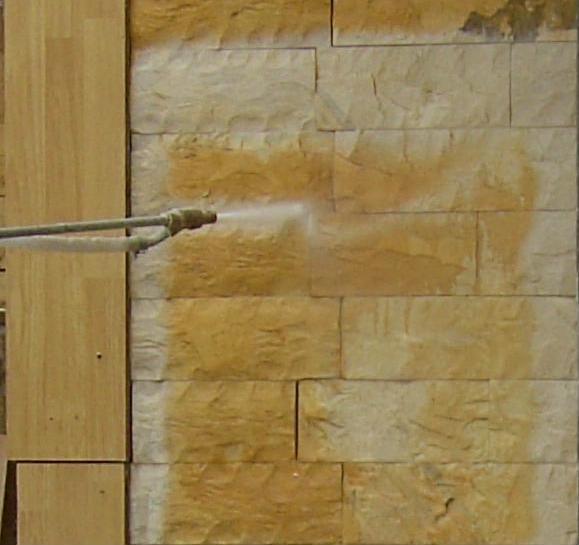 Поръчка Почистване фасади и пясъкоструйка