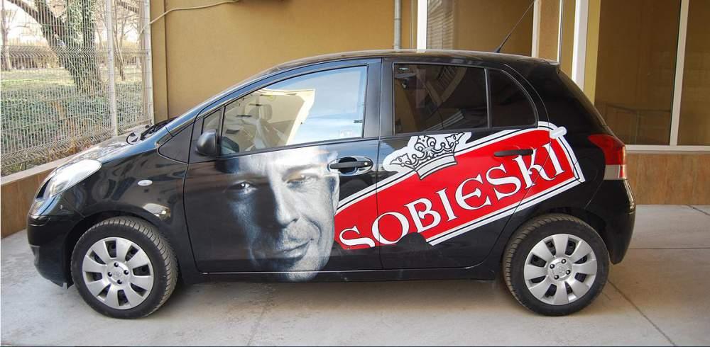 Поръчка Брандиране на автомобили, транспортна реклама