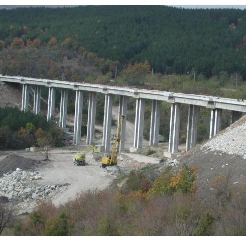 Поръчка Строителство на автомагистрали, пътища и съоръженията към тях