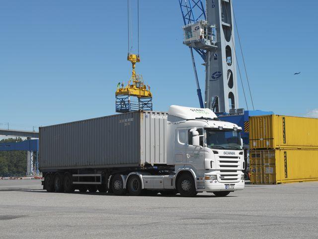 Поръчка Международен транспорт на товари