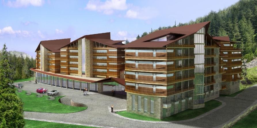 Поръчка Проектиране и строителство на хотелски комплекси