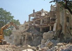 Поръчка Разрушаване на сгради