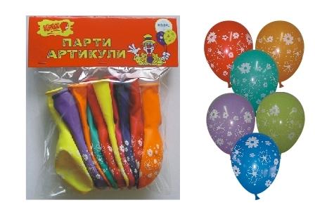 Поръчка Печат върху балон