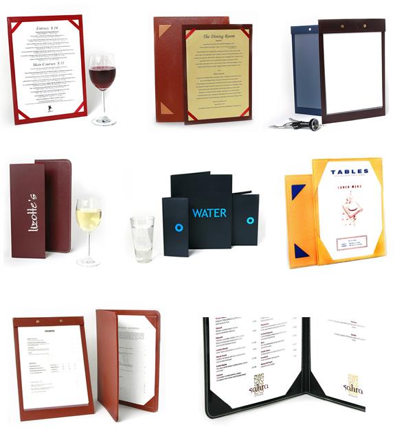 Поръчка Дизайн и печат на менюта