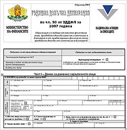 Поръчка Попълване и подаване на документи, пълно счетоводно отчитане