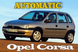 Поръчка Наем на автомобил Opel Corsa AUTOMATIC