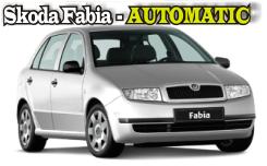 Поръчка Наем на автомобил Skoda Fabia AUTOMATIK