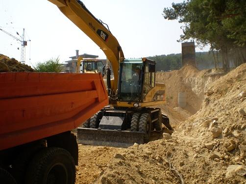 Поръчка Полагането на тръбопроводи по класическа технология в готов изкоп