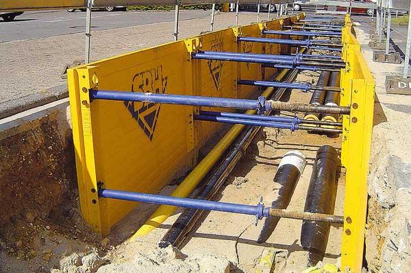 Поръчка Система за укрепване на изкопи SBH Extrabox 500 Series