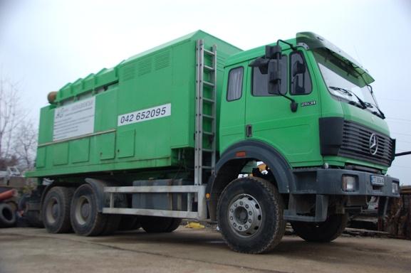 Поръчка Технология за почистване с машина за вакуумно събиране и извозване на смет
