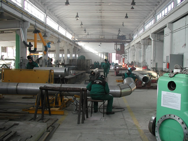 Поръчка Изработка и монтаж на съдове под налягане, технологични тръбопроводи