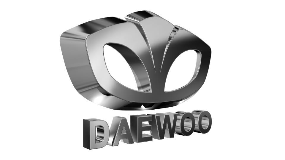 Поръчка Триизмерно лого за визуализация - 3D лого Daewoo