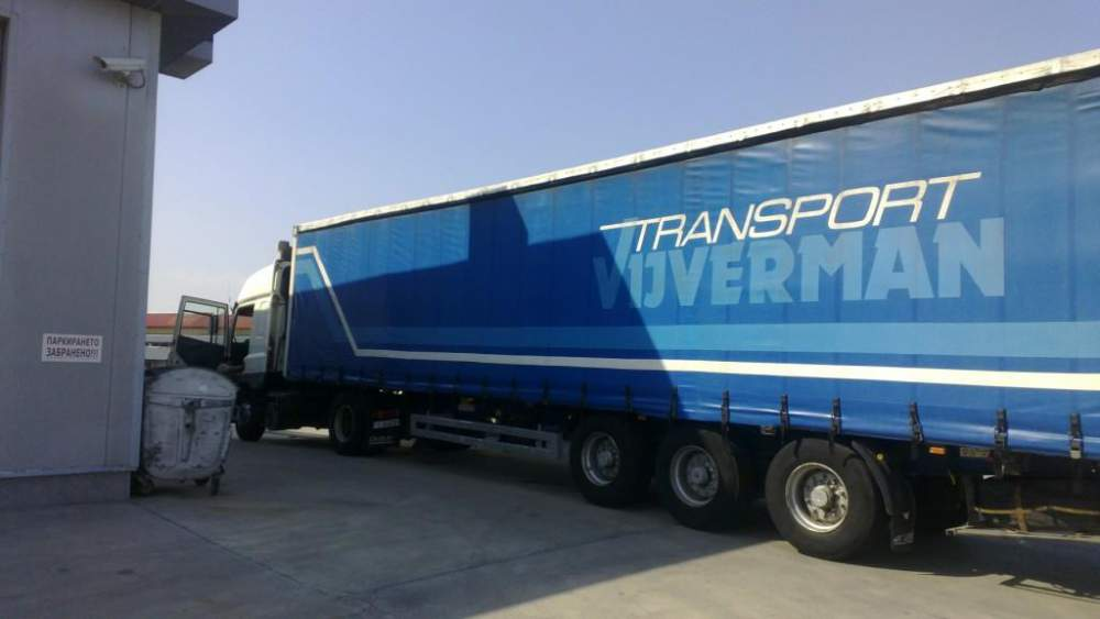 Поръчка Транспортиране и доставка на стока до Гърция