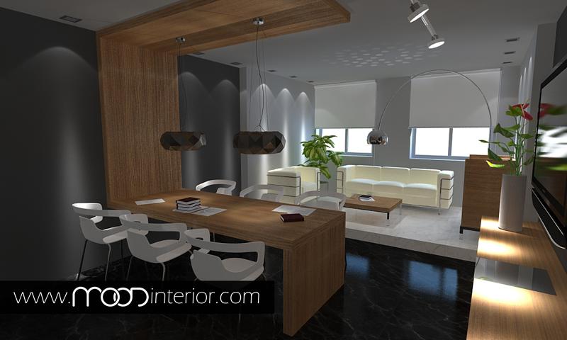 Поръчка Интериорен Дизайн за офиси от Студио MOOD
