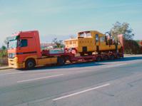 Поръчка Транспорт на извън-габаритни и тежки товари