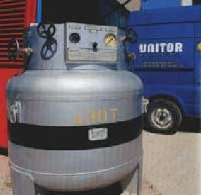 Поръчка Техническо освидетелстване и регистрация на метални бутилки със сгъстени, втечнени и разтворени под налягане газове