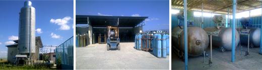 Поръчка База за пълнене на технически газове
