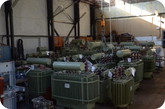 Поръчка Силови трансформатори до 1000 kVA ремонт и търговия