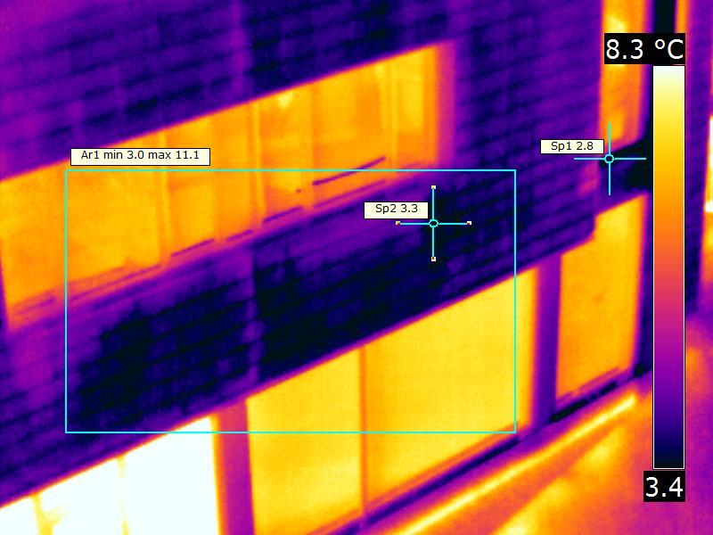 Поръчка Термографски анализ на бизнес сграда