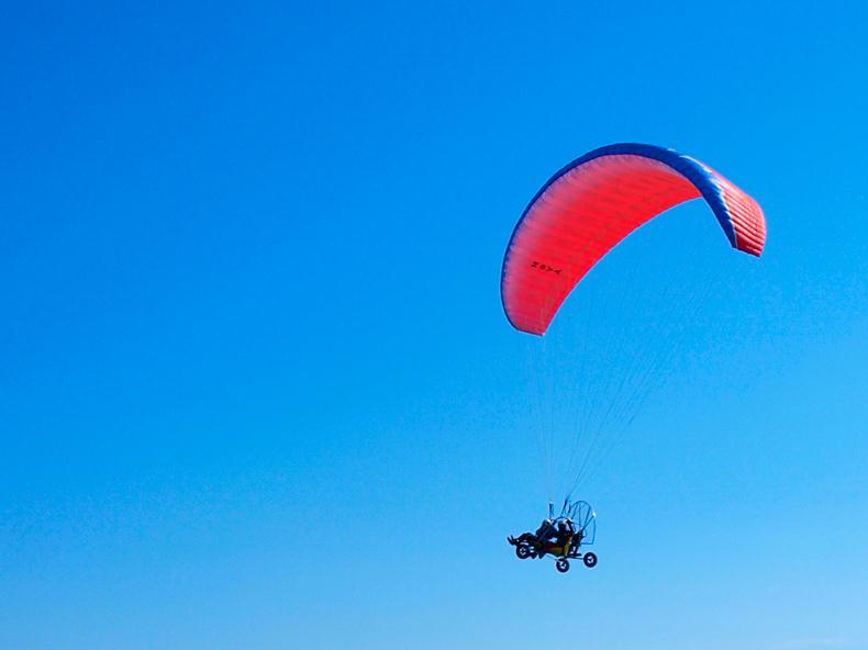 Поръчка Тандемен полет с безмоторен парапланер