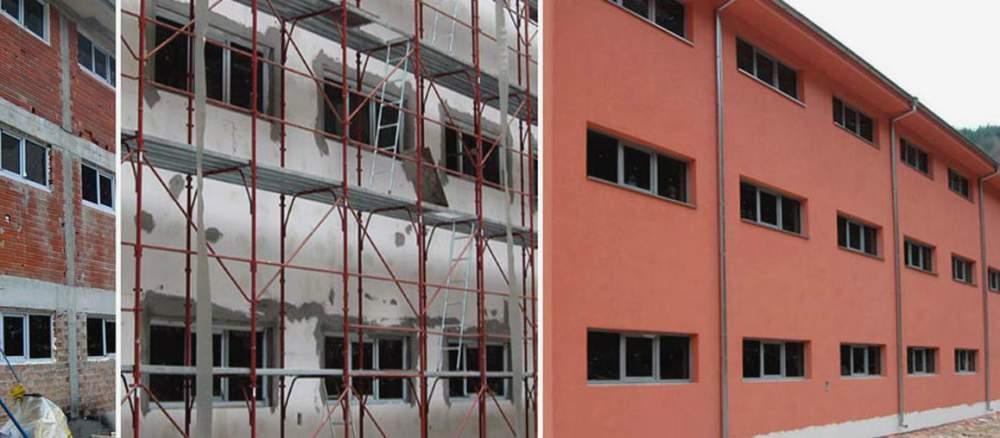 Поръчка Монтаж на топло-и хидроизолация по фасадите на сгради
