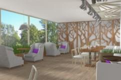 Поръчка Дизайн на интериора в ресторантите