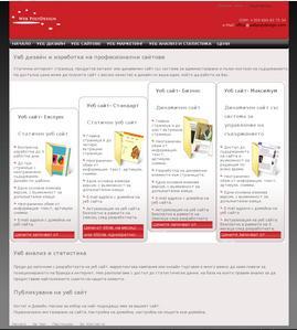 Поръчка Професионални Уеб Сайтове