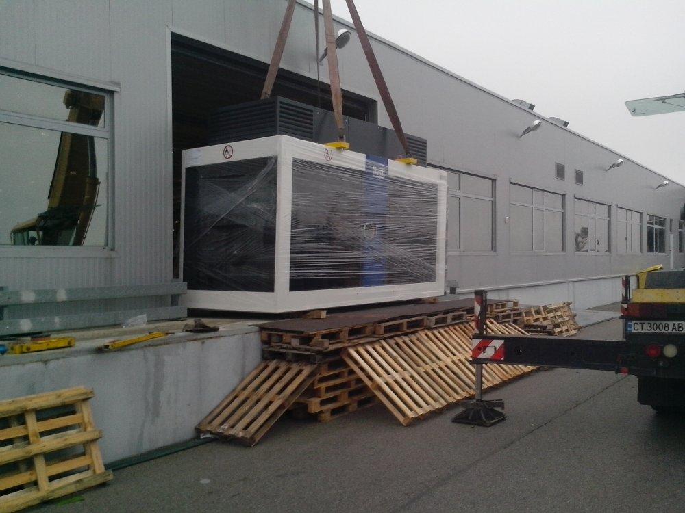 Поръчка Преместване на тежки машини Никеа БГ