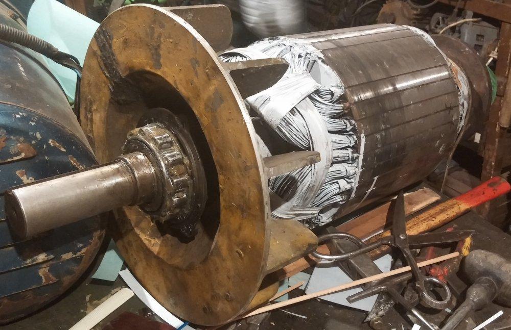 Поръчка Ремонт и пренавиване на генератори, електродвигатели, помпи, статори, ротори, динама, трансформатори, бобини