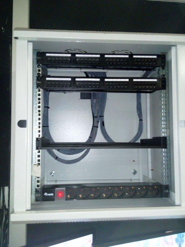Поръчка Реорганизация на компютърната мрежа в офиса и сградата