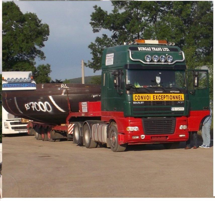 Поръчка Международен превоз на товари по шосе