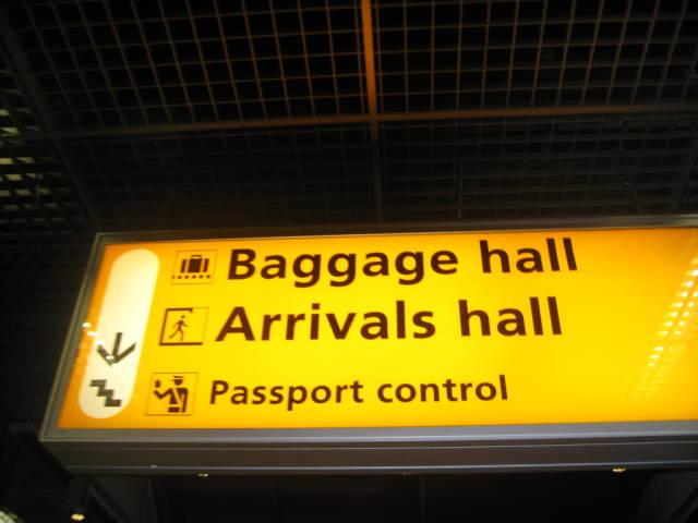 Поръчка Паспортен контрол