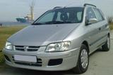 Автомобил под наем  MITSUBISHI SPACE STAR