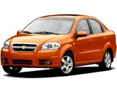 Автомобил под наем Chevrolet Aveo