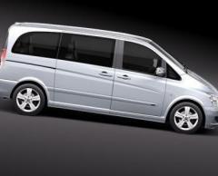 Кола под наем Mercedes Minivan