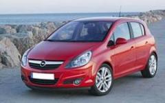 Кола под наем Opel Corsa 1,2 НОВ - 2008