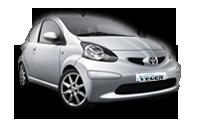 Кола под наем Toyota Aygo