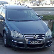 Автомобил под наем VW Golf 1.9 TDI Combi 105 к.с.