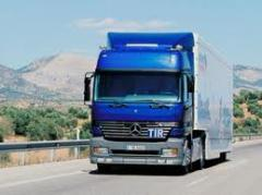 Международен и вътрешен автомобилен транспорт