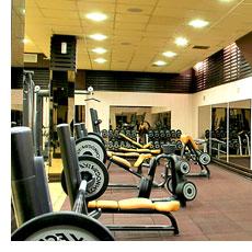 Фитнес зала в хотела