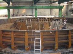 Извършване на капитални ремонти в металургията