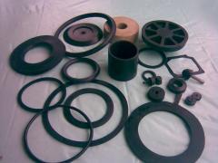 Изработка на каучукови изделия по заявка на