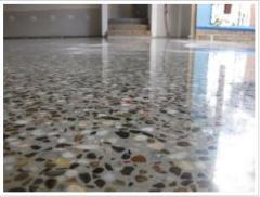 Изпълнение на полиран бетон