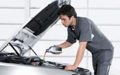 Обслужване на леки автомобили
