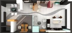 3D визуализация Stone center