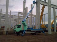 Монтаж и демонтаж на стоманени и стоманено-бетонни